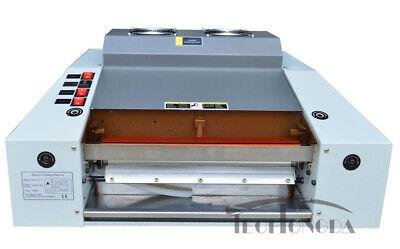 Techtongda 220v Photodocument 13in A3 Uv Coating Laminator Machine Office
