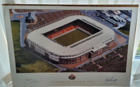 Safc signed picture 23.5x16inch