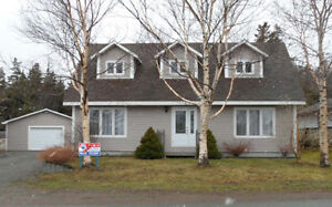 Beautiful Cape Cod Home on two lots of land in Marystown Area
