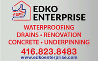 Basement Waterproofing Expert - FREE estimates call now