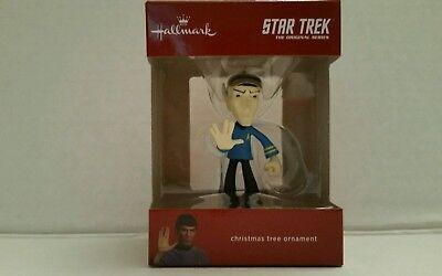 Star Trek Dr.Spock Hallmark  Christmas Tree Ornaments 2017 The  Original Series