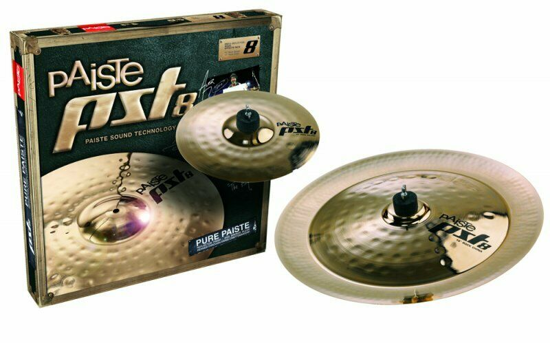 Paiste Pst8 Reflector Rock Effects Cymbal Pack PST8BS2RFX