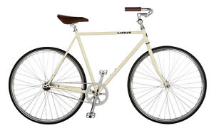 Cream LINUS Single-Speed Roadster Classic Bicycle - as new!