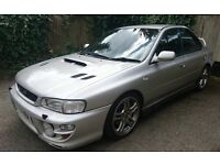 2001 SUBARU IMPREZA WRX TURBO 2000 STARTS AND DRIVES NO MOT BARGAIN
