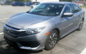 2018 Honda Civic SE Sedan Lease Takeover (with Winter Tires)