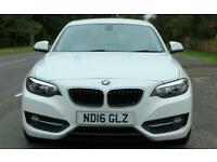 2016 BMW 2 Series 220d [190] Sport 2dr Coupe Diesel Manual