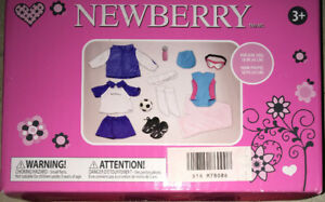 "NEWBERRY 18"" DOLL 'SOCCER OUTFIT' BNIB"