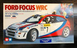Brand New TAMIYA 1/24 Ford Focus WRC 1999