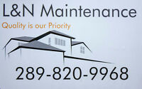 L&N Maintenance To help with all your tasks!