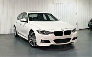 2015 BMW 3 Series F30 LCI 330i M Sport White 8 Speed Sports Automatic Sedan