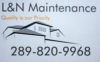 L&N Maintanence- Here to help you with that New Roof!