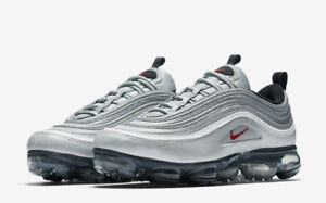 """(LIMITED) Nike Vapormax 97's """"Silver Bullet"""" in size 9 Mens"""