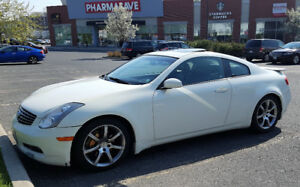 G35 Coupe - Performance Trim  with Brembo, Nav, 18's, & Bose