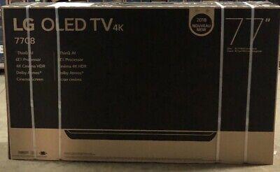 LG OLED77C8P 77-Inch 4K Ultra HD Smart OLED TV (2018 Model) With Bundle