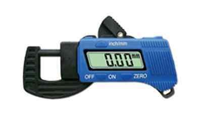 Digital Micrometer Carbon Fiber Construction 8mm Lcd Display