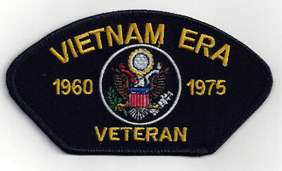 - VIETNAM ERA VETERAN HAT PATCH US ARMY MARINES NAVY USCG AIR FORCE PIN UP GIFT