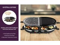 Andrew James half and half raclette grill