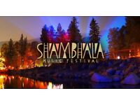 2 x Shamabla Coach Tickets (from Manchester) (Face Value) - (23-26 Aug)