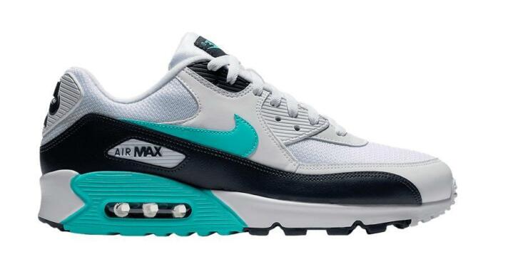 finest selection 28e16 a5689 Nike Air Max 90 Essential AJ1285-102 Wit / Groen-45.5 | 2dehands.be