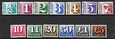 D77-89 1970 Postage Due Set UNMOUNTED MINT(495)