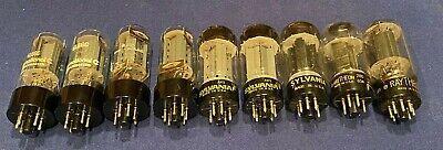 6L6 Power Tubes Lot - Grab Bag - Leslie Guitar Amplifier - Sylvania Raytheon  - $29.95