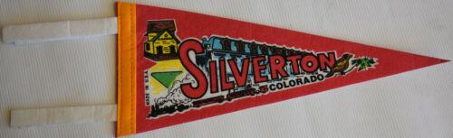 Vintage Silverton Colorado Pennant Hard to Find!