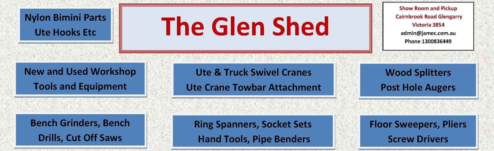 The Glen Shed