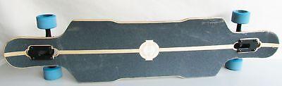 Long Island 15 (Long Island Longboards LI60610006 Skateboard, 105 x 23 cm, blau, K15)