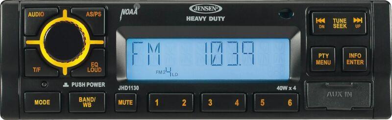 Jensen Heavy Duty JHD1130B AM/FM Receiver