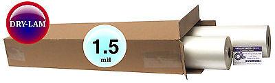 Dry-lam Standard Hot Laminating Film 25 X 500 On 1 Core 1.5 Mil 2 Rolls