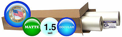 Doculam Roll Laminating Film 25-inch X 500 On 1 Core 1.5 Mil Bx Of 2 Matte