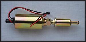 Inline Low Pressure Electric Fuel Pump 12V Gas Diesel