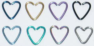 DAITH-HEARTS-TITANIUM-COATED-STEEL-CONTINUOUS-HEART-RING-RIM-PIERCING-HOOPS