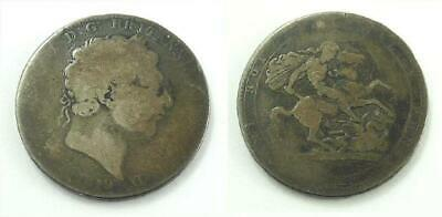 1819 Great Britain / United Kingdom Crown Silver Coin - King George III