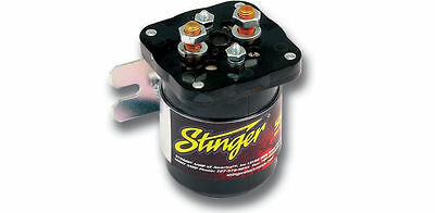 NEW STINGER SGP32 HIGH CURRENT POWER RELAY BATTERY ISOLATOR 200 AMP CAR (Car Audio Battery Isolator)