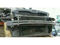 Skoda octavia 2010 1.9 diesel bxe complete radiator rad +fan pack ,bumper bar