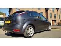 Ford Focus 1.6 TDCi Zetec 5dr 2010 PARKING SENSOR BLUETOOTH PARROT MOT 80K 1 OWNER NEW £3350 PERFECT