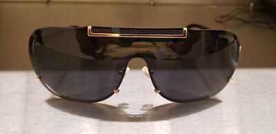 Versace Men's VE2140 Black Gold Grey