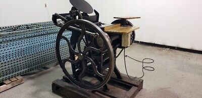 Letterpress 10 X 15 Chandler Price Press 1