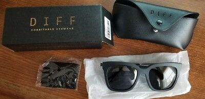 DIFF Eyewear Bella MB-GR10P Square Sunglasses