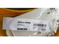 IKEA Smila Mane- Wall lamp, Yellow