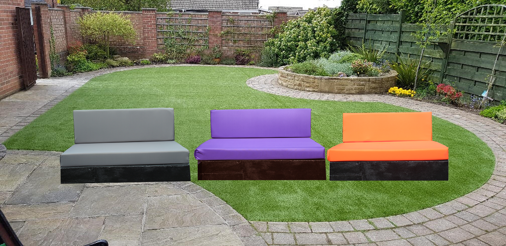 Garden Furniture - Kosipad Pallet Bench Sofa Garden Furniture Foam Cushions Water Resistant Covers