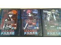 Manga dvds Tokko