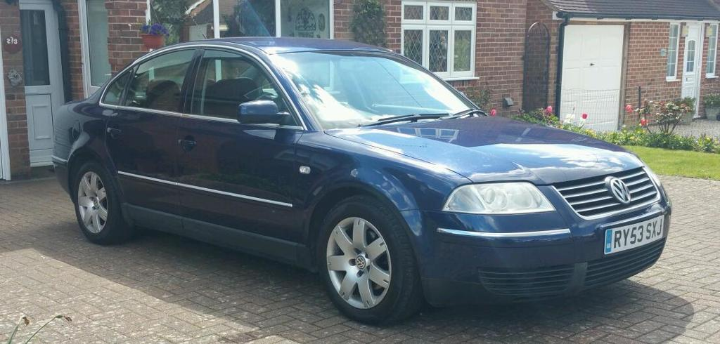 vw passat 1 9 tdi sport pd 130 bhp 2004 1 owner from new 12 months mot full vw s history. Black Bedroom Furniture Sets. Home Design Ideas