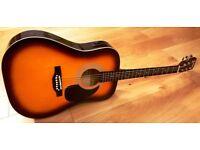 Falcon Electro-Acoustic Dreadnought Guitar