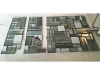 Glass Splash Back Tiles - On Mesh Sheet