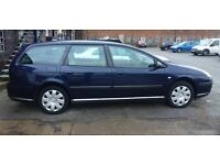 CRACKING FAMILY DIESEL ESTATE CAR. CITROEN C5 1.6 HDI. ONLY £890. FULL SERVICE HISTORY!!