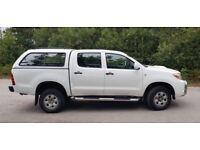 Toyota Hill HL2 D-4D 4x4 Double Cab 2.5L, £5300.00 plus VAT