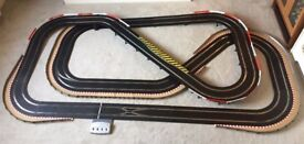 Scalextric Digital Large Layout with Large Flyover / Hairpin / Chicanes & 2 Cars