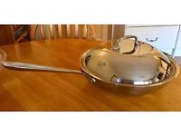 """Professional All Clad Large 12"""" Cooking Pan - Excellent Condition"""